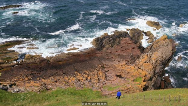 The cliff that revealed Earth's history
