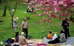 13 bedar in Iran ad a holiday