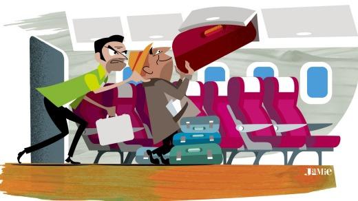 Business class flights travel