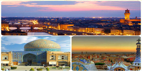 Isfahan twin towns