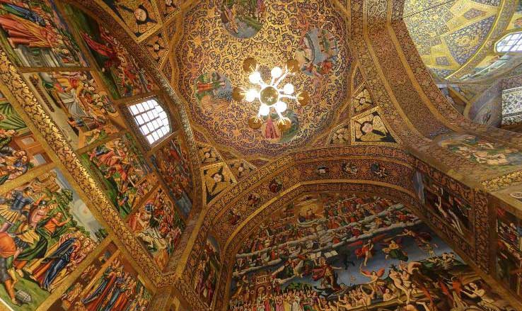 Vank cathedral one of Iran Cultural attractions