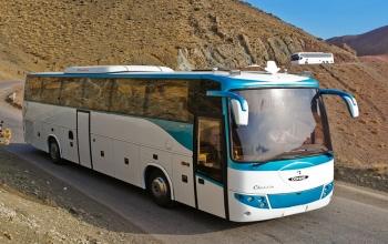 Iran rental car Middle bus