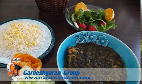 Ghalyeh Iranian Cuisin iranian food