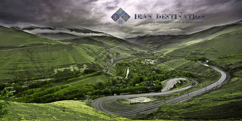 chaloos road - chalus road - north of iran