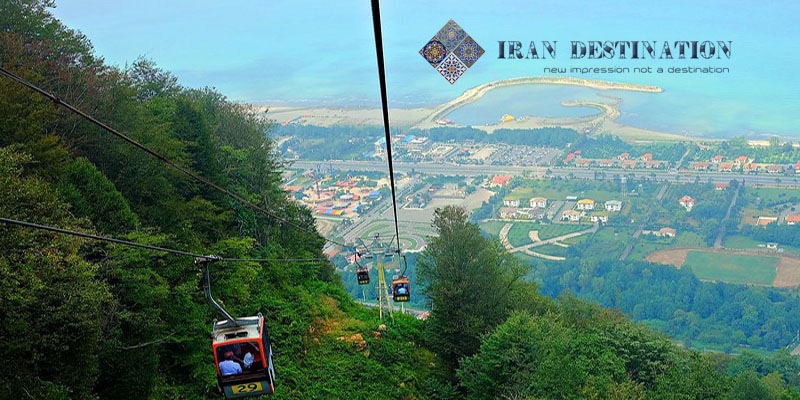 ramsar telecabin - north of iran