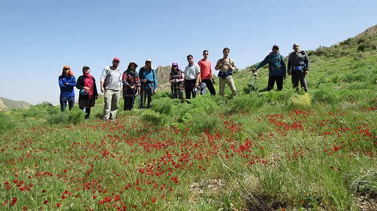 Barm Firuz Mount , Sepidan , Trekking