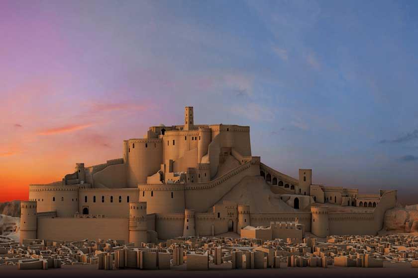 Iran Destination-Bam Citadel