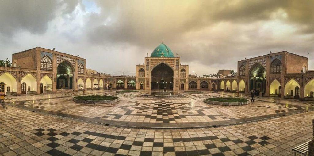 Zanjan Jaame Mosque & School