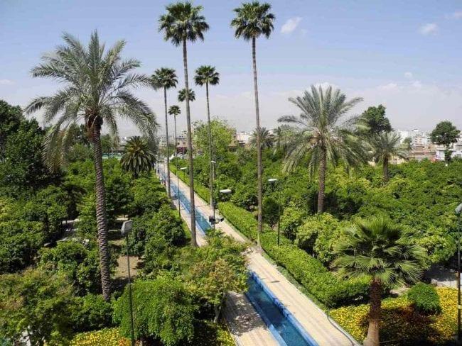 Delgosha Garden , Shiraz , Iran Destination
