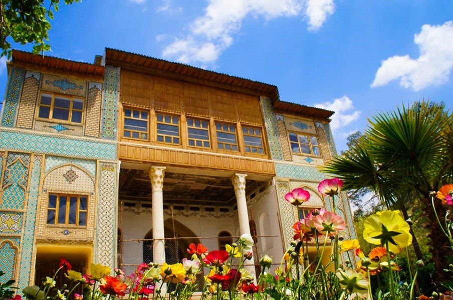 Delgosha Garden , Persian Garden , Shiraz