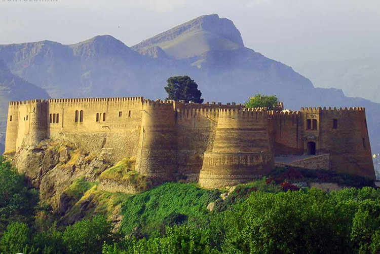 Falak ol Aflak Castel , Lorestan Attractions