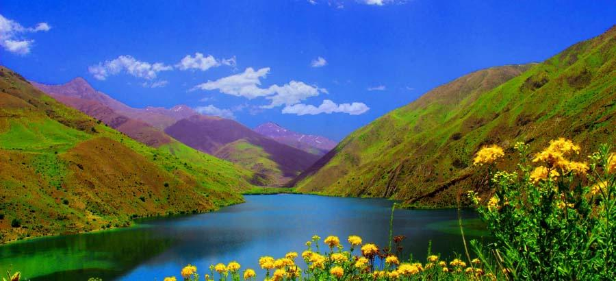 Gahar Lake , Lorestan , Land of Waterfalls