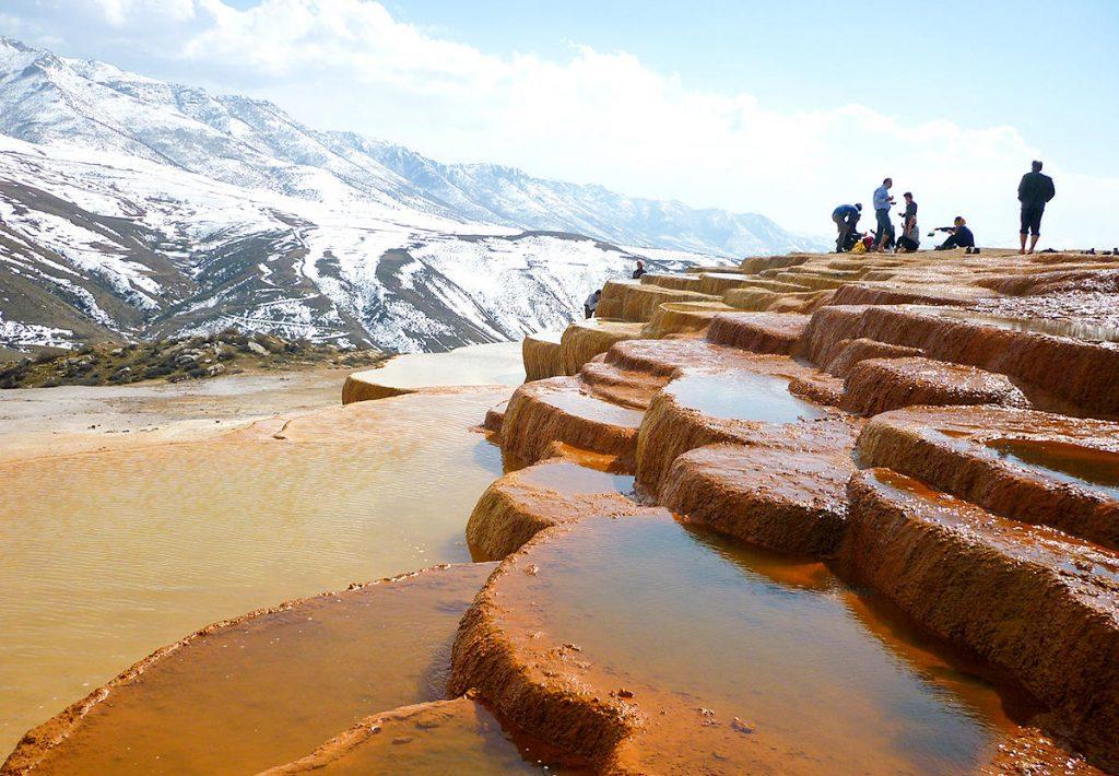 Iran Destination: Badab Surt Springs