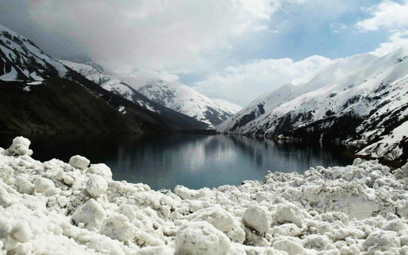 Iran Destination, Gohar Lake, winter time