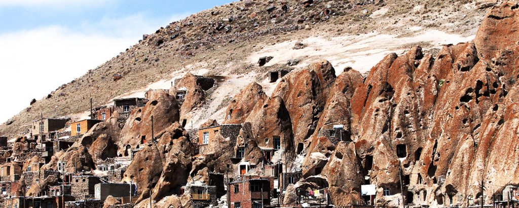 Iran Destination, Kandovan Rocky Village. Located in East Azerbaijan Province, Iran