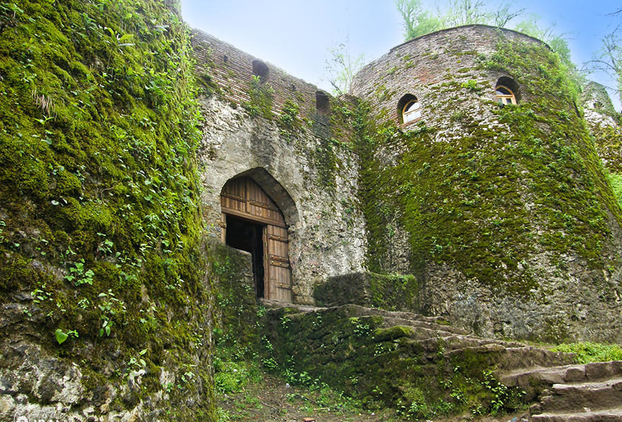 Iran Destination: Rudkhan Castle located in Gilan Province