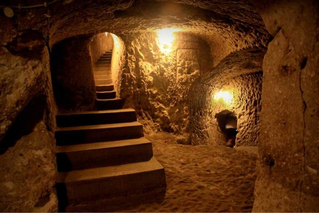 The Wonderful Underground city