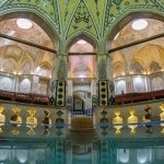 Sultan Amir Ahmad Traditional Bathhouse, Located in Kashan, Iran
