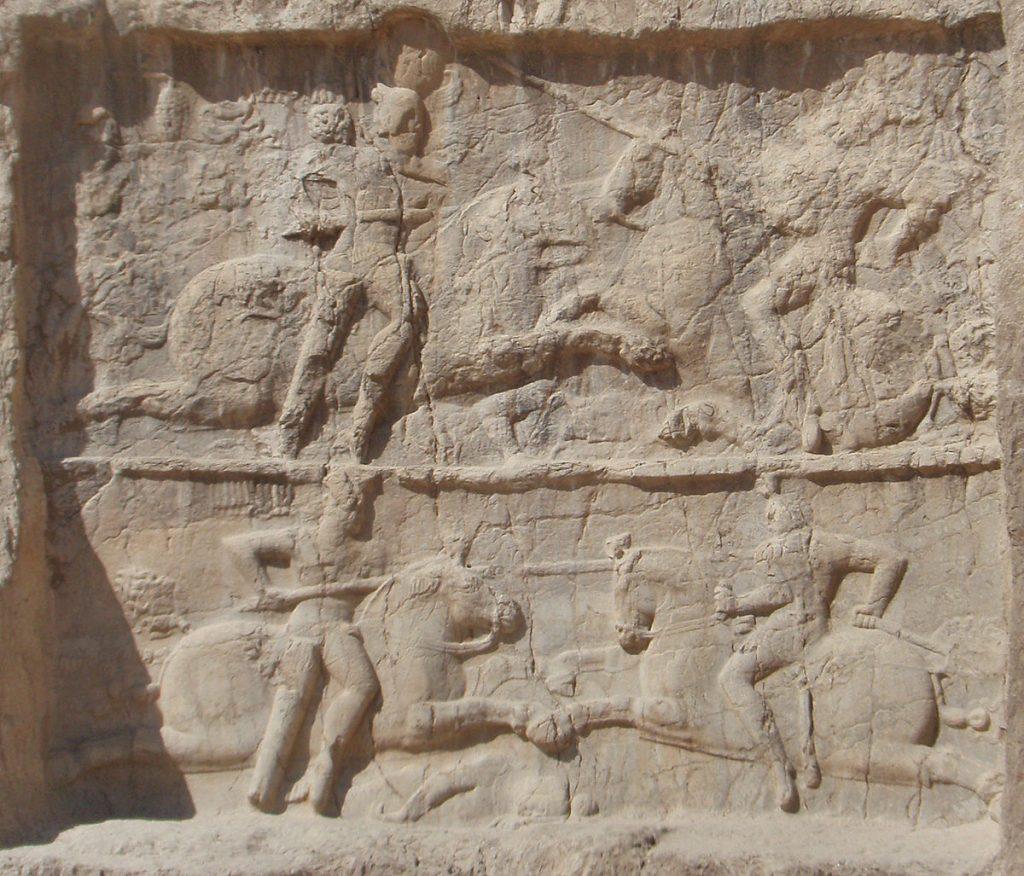 Bahram II Relief , Naghsh e Rostam