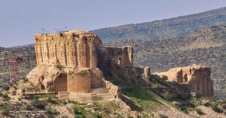 Firoozabad Daughter Castle