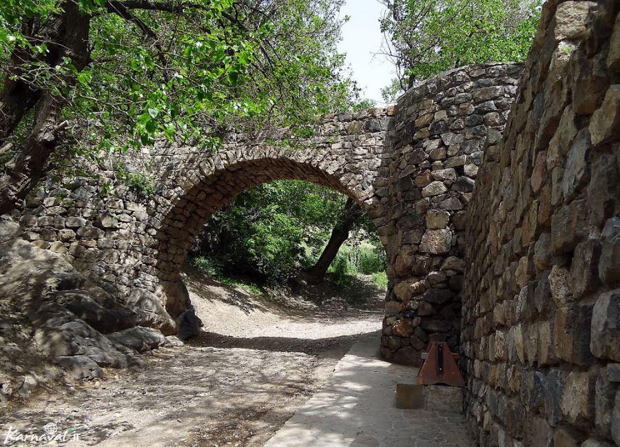 Garden of Saint Stepanos Monastery, Jolfa, Isfahan