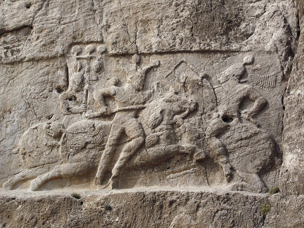 Shapour II , Sassanian Victory