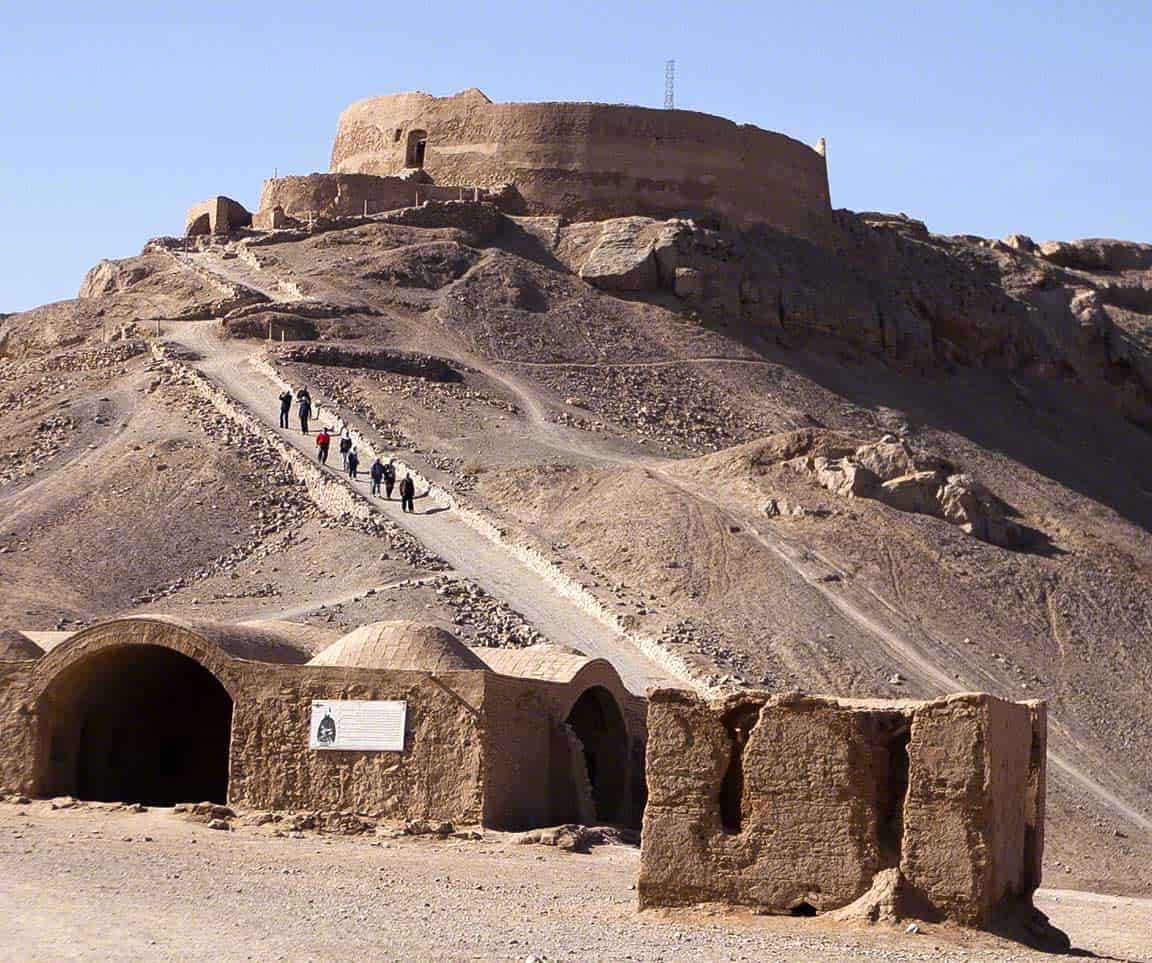 Tower of Silence in Yazd,