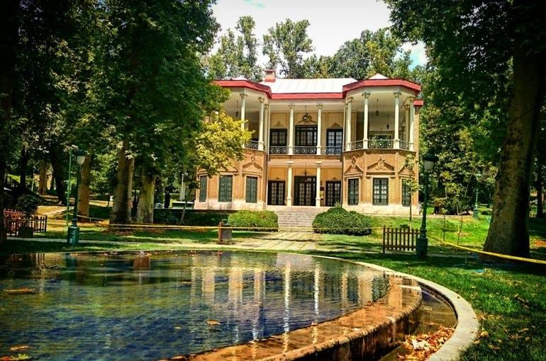 Niavaran Palast, Fotografie in Teheran