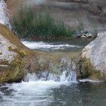 Sekonj Quelle-Wasserfall