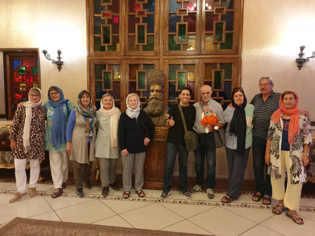 Spanish tourists acknowledged that Iran is safe country to visit
