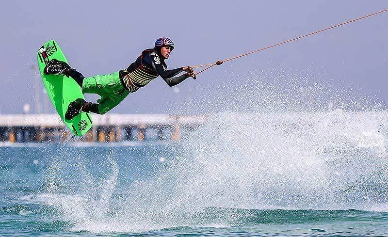 Jet ski , Kish Island