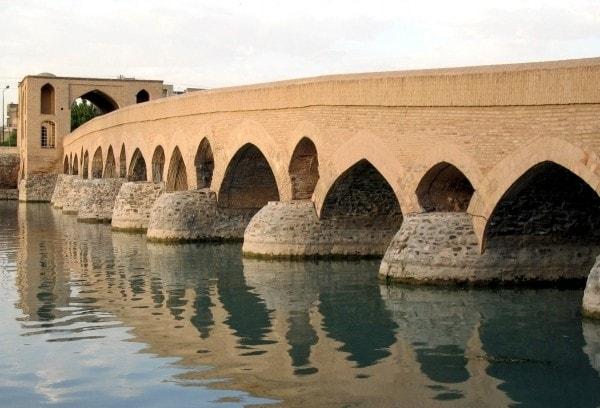 Puente Khaju en Isfahan