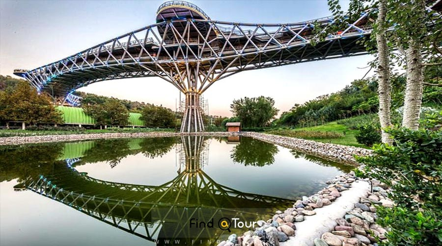 The Bridge of Nature, Masterpiece of Tehran
