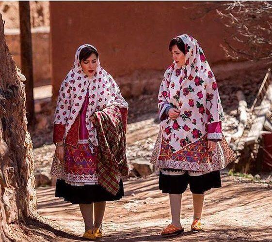 Abyaneh Rotes Dorf