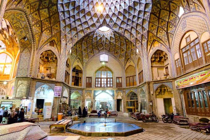 Kashan traditioneller Basar