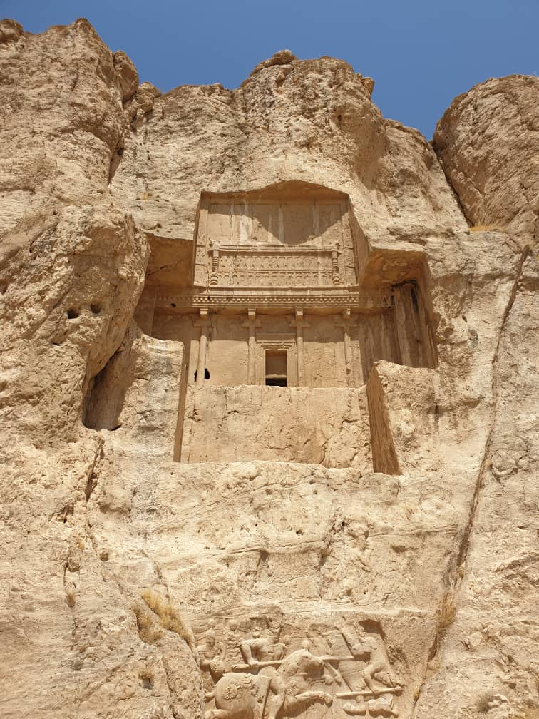Tomb of Kings in Naghshe Rostam, photo: Sam Davani (@samdavani )