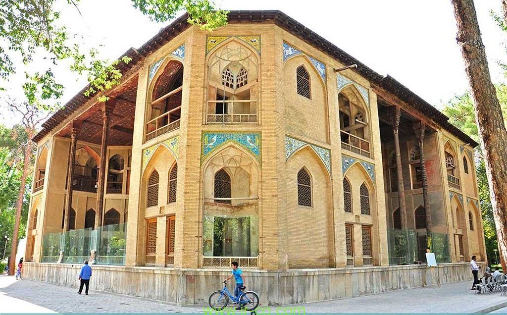 Palacio Hasht Behesht, Isfahan