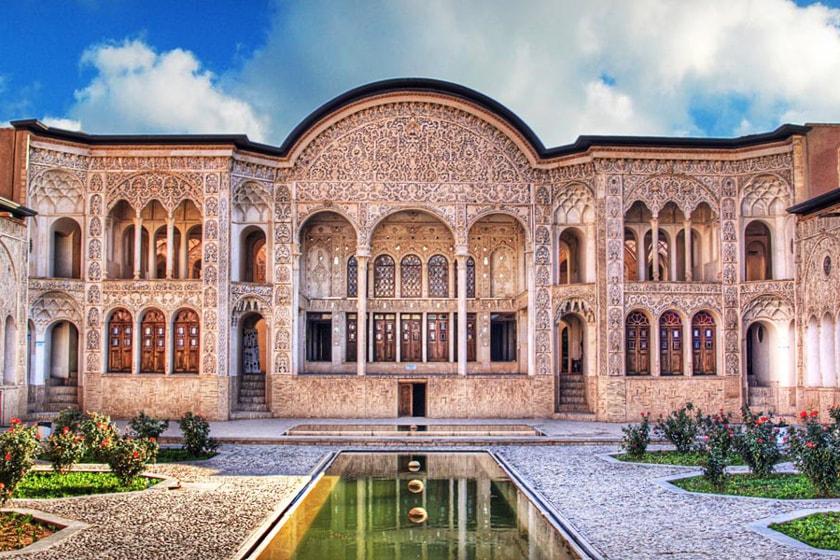 traditionelle Häuser Kashan