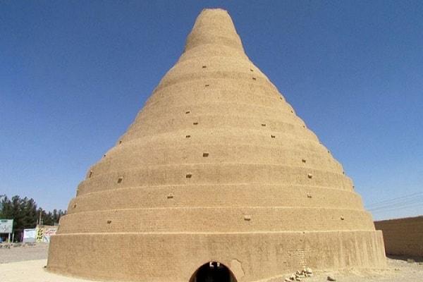 Historical Ice Storage , Lut Desert , Iran Destination