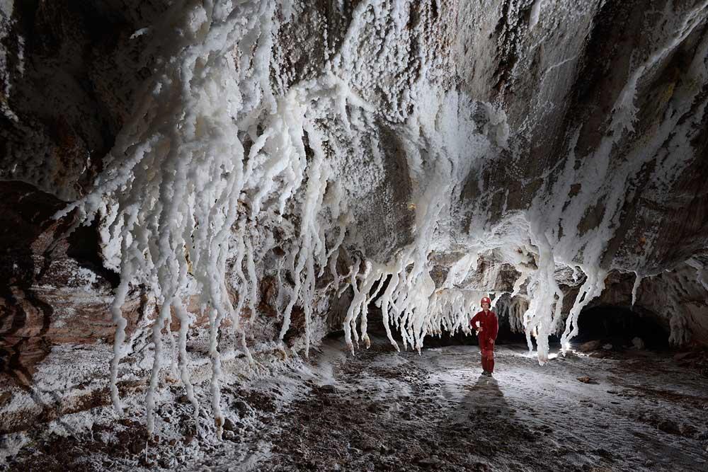 Namakdan Salt Cave, Qeshm Island