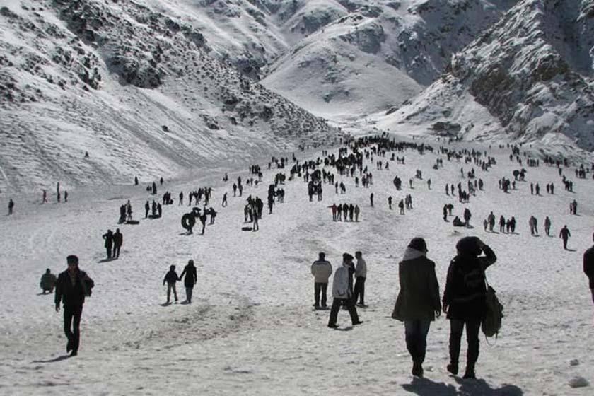 Sirch Ski Resort , Lut Desert , Kerman