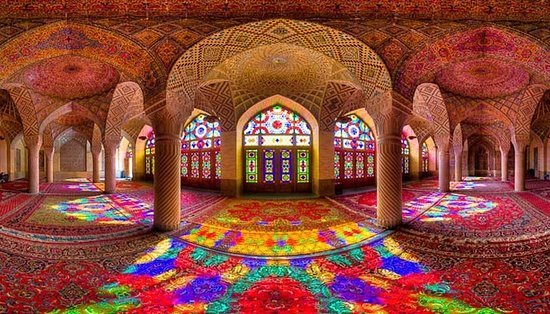 Nasir Al-Molk-mosque, Shiraz tours