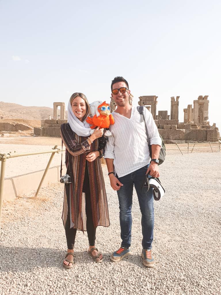 Coronavirus und Reisen in den Iran , Spanish Touristen im Iran