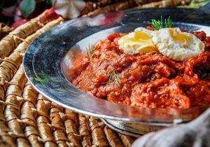 Mirza Ghasemi , Persia-Lebensmittel Tour