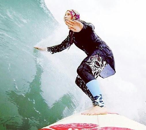 Surfing Iran