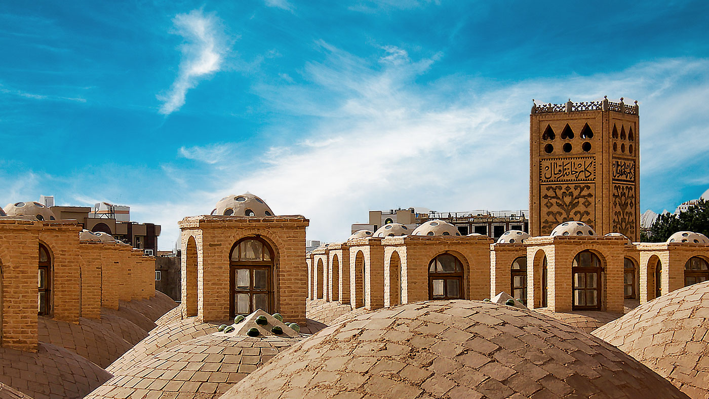 Windfänger in Yazd