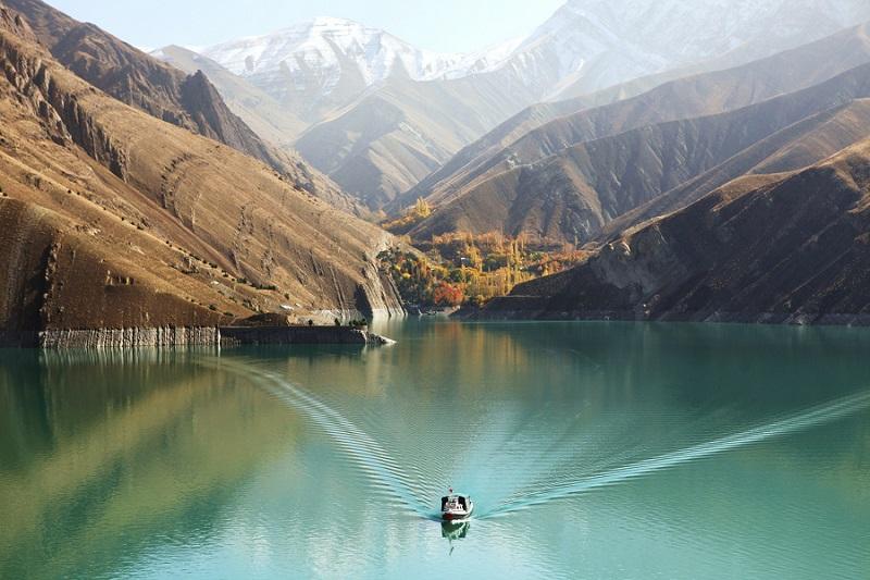 Amir Kabir Dam chalus road iran