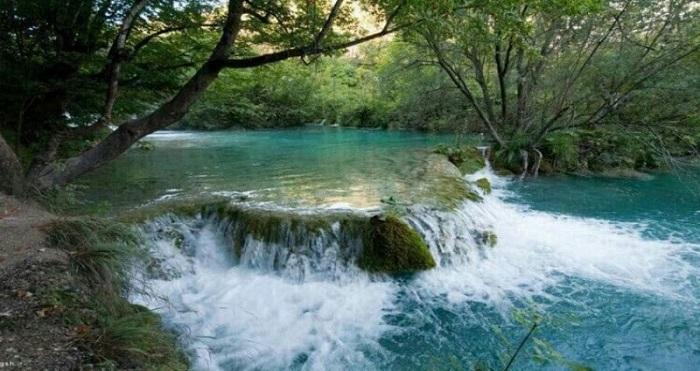 Karaj River chalus road iran