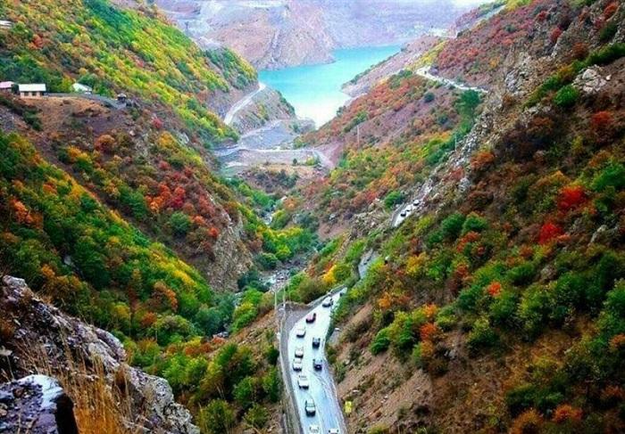chalus road iran