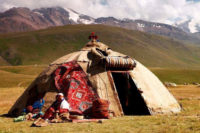 Shahsavan nomads